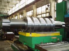 Rolls and rollers of live rolls of rolling mills