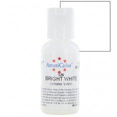 Краситель гелевый Americolor ярко -белый