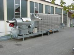 The mobile circulating dryer MUF, pr-in STELA GMBH