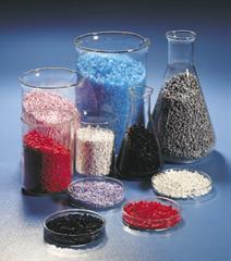 Polypropylene secondary shredded black