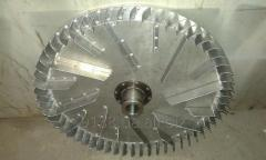 Fans of a high pressure (the highest pressure /