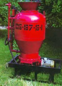 Установка для набризга бетонної суміші СБ-67Б