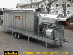 The mobile dryer MUF 110 - self-cleared cribriform