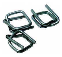 The buckle is wire. Packaging materials