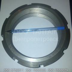 Гайка круглая шлицевая ГОСТ 11871-88, DIN 981