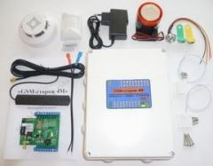 The GSM GSM watchman 4M alarm system a complete
