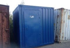Морской контейнер 10 футов (тонн)  Доставка по