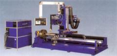 Installation of a manual plasma and powder