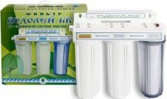 Фильтры для воды Водолей-БКП (блок коллективного