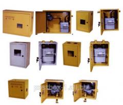 Cases for the gas equipmen