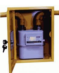 Ящик для газового счетчика своими руками из канистры 20