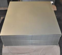 Tin white varnished