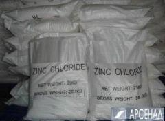 El cloruro del zinc (el Zinc hloristyy)