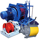 Winches are mine, mining, shunting, cargo in