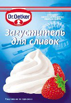Thickener for Dr. Oetker cream