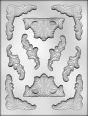 Mold for Baroque mastic