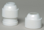 Adapter for nozzles, nozzles on pastry bag