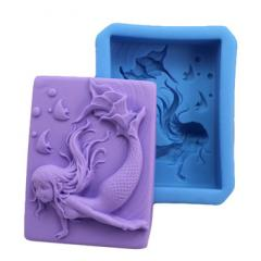 The mermaid mold silicone for creativity