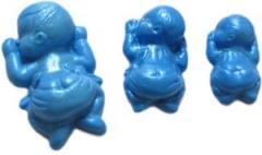Three kids silicone mold