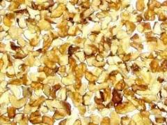 Walnut kernel quarter
