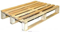 Pallets wooden facilitated