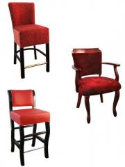 Furniture for a casino standard and exclusive.