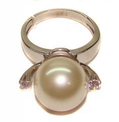 Кольцо золото Au 585° пробы со вставками из