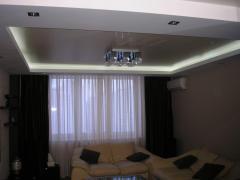 Неоновая подсветка потолка, пола...