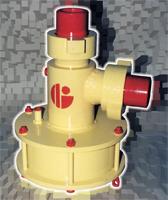 Device throttle locking pneumatic DZU-250