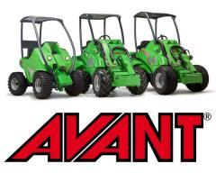 Mini-loaders universal AVANT (Finland), sale,
