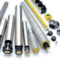 The motor reels and rollers from Interroll and