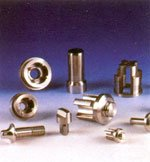 Molded pieces on the basis of cobalt or nickel for