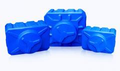 Полимерные емкости квадратные, многослойные  от