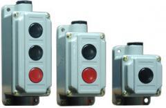 Выключатели кнопочные и посты управления кнопочные