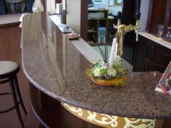 Модули гранитные: столешницы, барные стойки, плиты