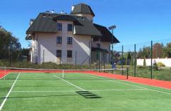 Construction of tennis courts, construction of