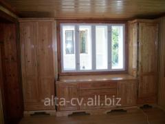 Handmade wooden furniture