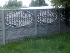 Херсон: Заборы бетонные(еврозаборы) наборные
