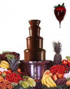 Шоколадные фонтаны для украшения праздников.