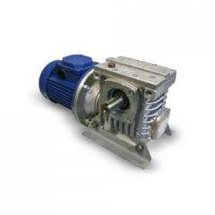Worm one-stage motor reducers MCh type (MCh-40, MCh-63, MCh-80, MCh-100, MCh-125, MCh-160)