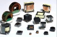 Inductive components of throttles and transformers