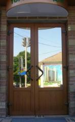 Doors metalplastic Kharkiv