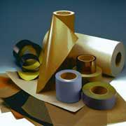 Tapes and grids with PTFE (teflon) covering of