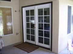 Doors are metalplastic sound-proof
