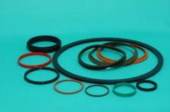 Rubber-technical products, rings and gaskets
