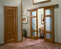 Doors interroom metalplastic