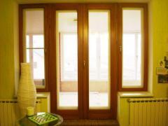Doors are metalplastic noise-insulating