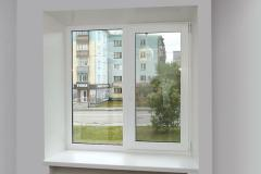 Metalplastic false windows