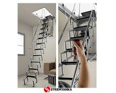 The garret ladder of FANTOZZI ALLUMINIO MOTORIZATA