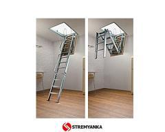 The garret ladder of FANTOZZI ACI TRE of 120х70 cm